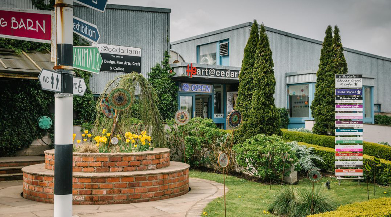 Cedar Farm Arts Craft Markets Shops Mawdesley Lancashire