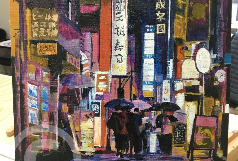 Chris McLoughlin's Oil Painting School – BEGINNERS