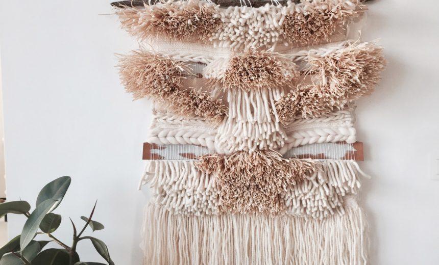 Tapestry Loom Weaving